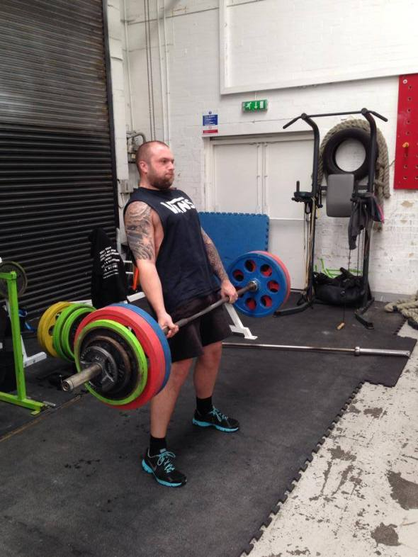 Peter Carter - PB Deadlift 155kg - 4 reps